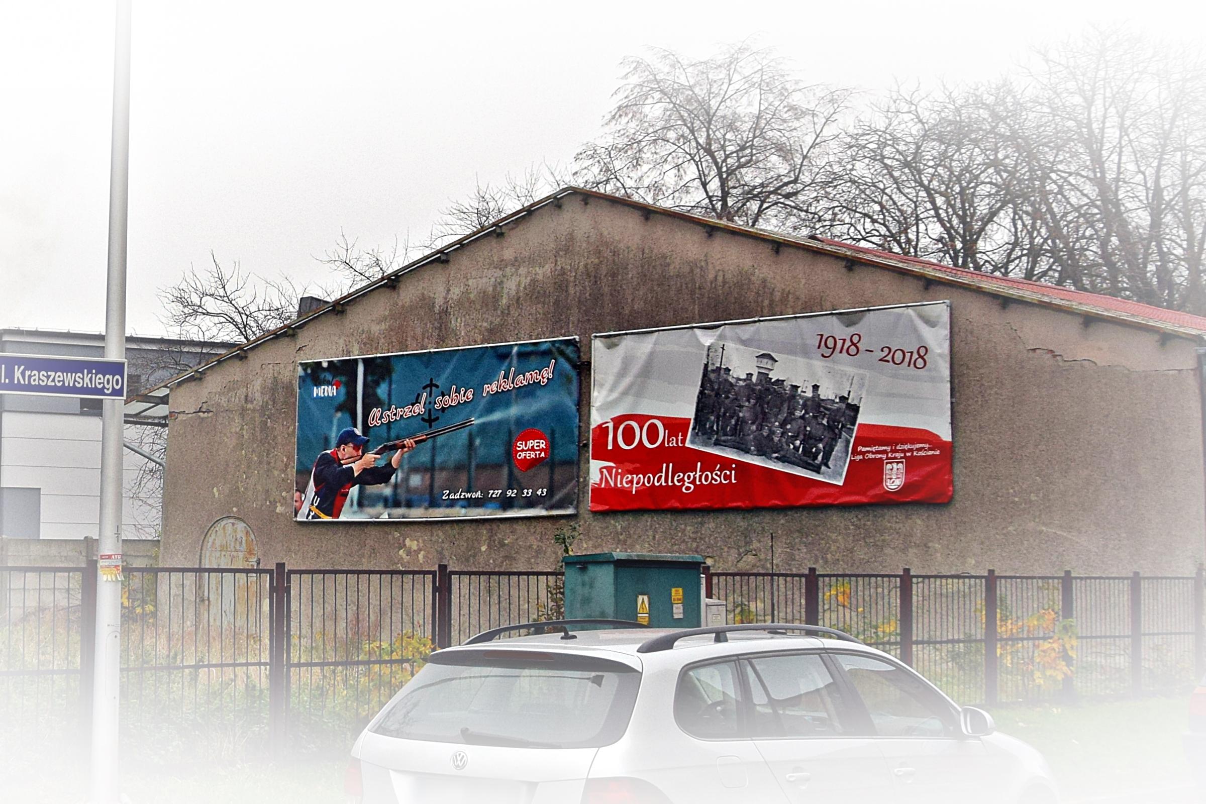 baner reklamowy Kościan Mickiewicza